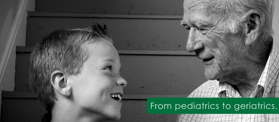 Pediatrics to Geriatrics – Care through the Ages